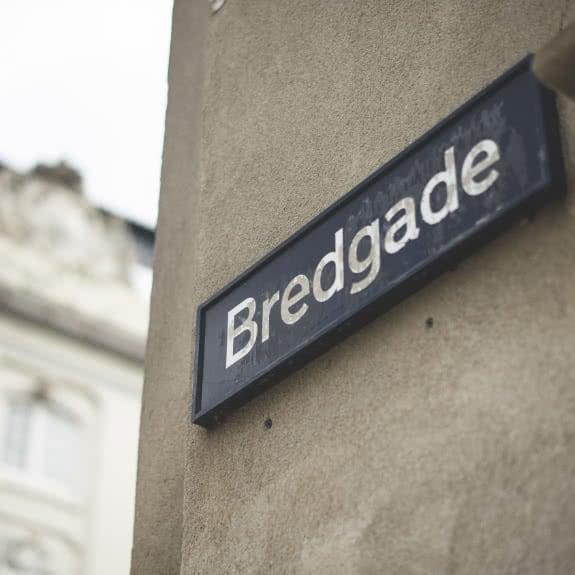 bredgade sign